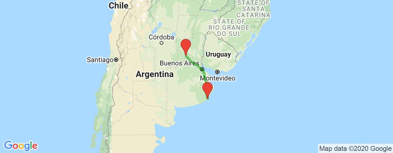Comprar pasajes saliendo de Mar del Plata a Rosario. Pasajes baratos a Rosario en bus precio y horario desde Mar del Plata.