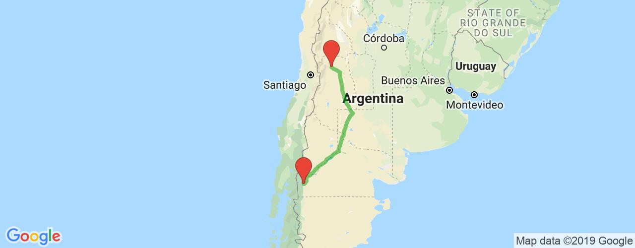 Comprar pasajes saliendo de Mendoza a Bariloche. Pasajes baratos a Bariloche en bus precio y horario desde Mendoza.