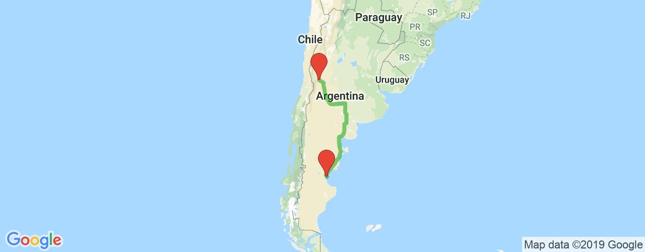 Comprar pasajes saliendo de Mendoza a Comodoro Rivadavia. Pasajes baratos a Comodoro Rivadavia en bus precio y horario desde Mendoza.