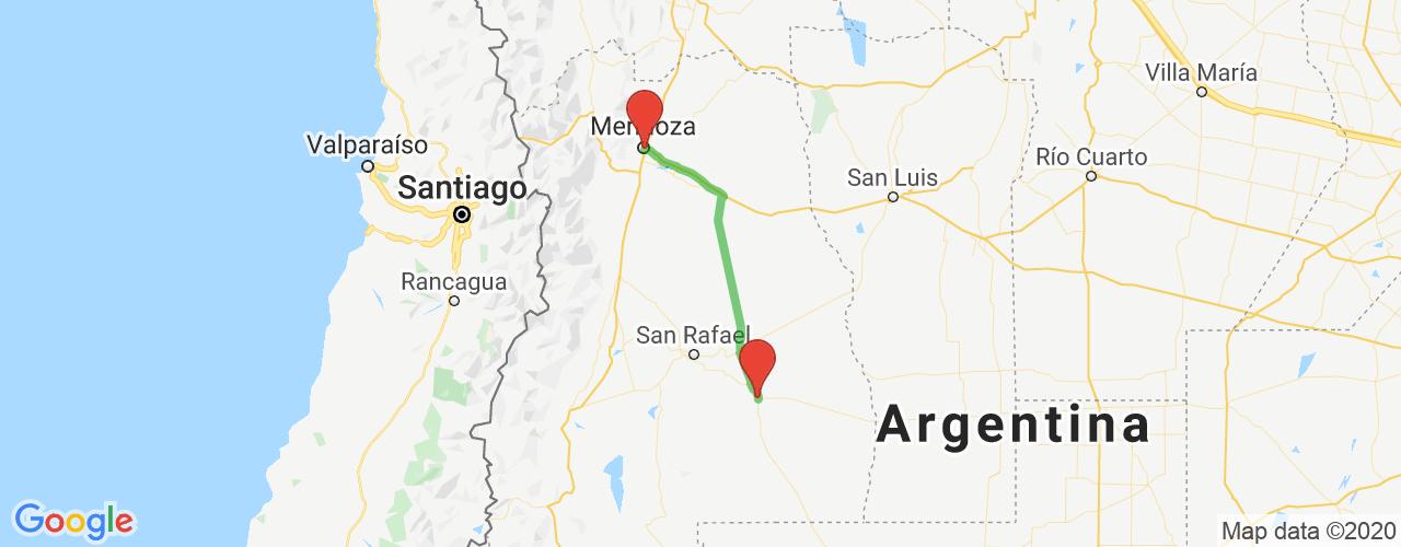 Comprar pasajes saliendo de Mendoza a General Alvear. Pasajes baratos a General Alvear en bus precio y horario desde Mendoza.