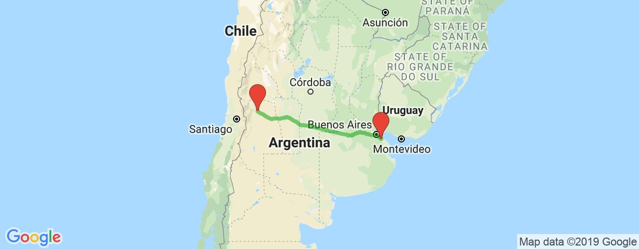 Comprar pasajes saliendo de Mendoza a La Plata. Pasajes baratos a La Plata en bus precio y horario desde Mendoza.