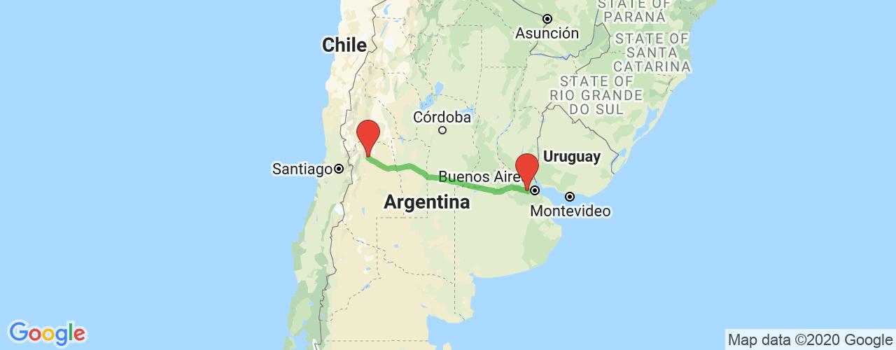 Comprar pasajes saliendo de Mendoza a Moreno. Pasajes baratos a Moreno en bus precio y horario desde Mendoza.