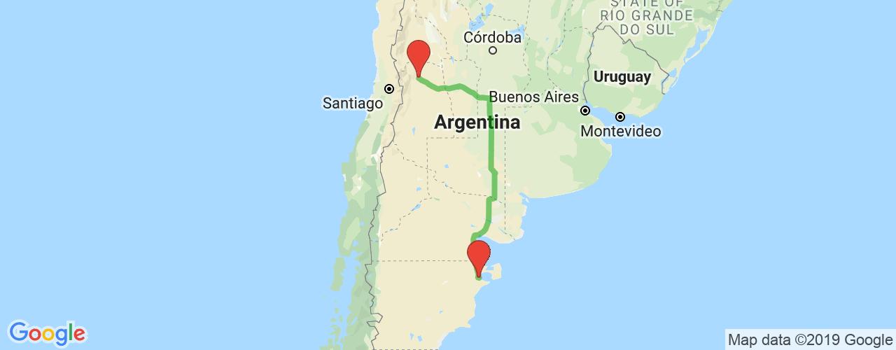 Comprar pasajes saliendo de Mendoza a Puerto Madryn. Pasajes baratos a Puerto Madryn en bus precio y horario desde Mendoza.