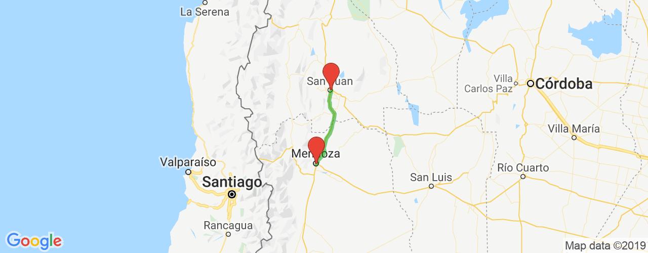 Comprar pasajes saliendo de Mendoza a San Juan. Pasajes baratos a San Juan en bus precio y horario desde Mendoza.