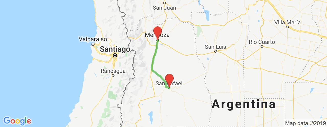 Comprar pasajes saliendo de Mendoza a San Rafael. Pasajes baratos a San Rafael en bus precio y horario desde Mendoza.