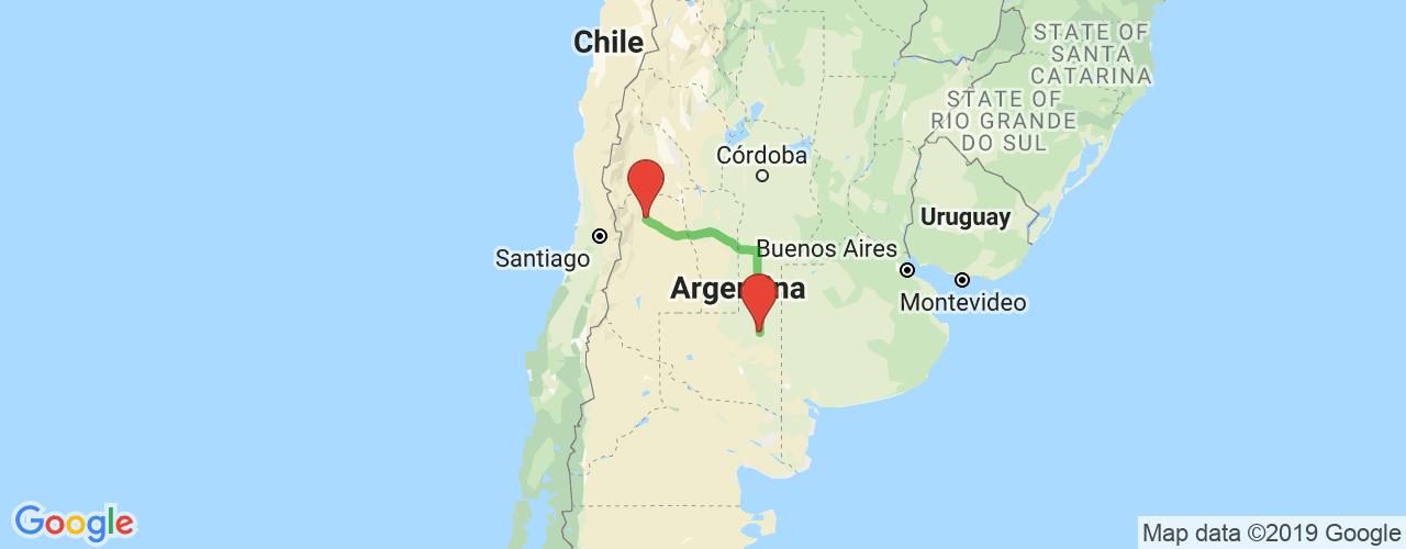 Comprar pasajes saliendo de Mendoza a Santa Rosa. Pasajes baratos a Santa Rosa en bus precio y horario desde Mendoza.