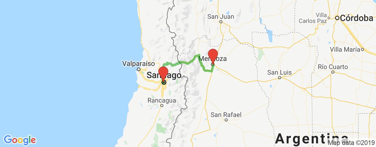 Comprar pasajes saliendo de Mendoza a Santiago de Chile. Pasajes baratos a Santiago de Chile en bus precio y horario desde Mendoza.