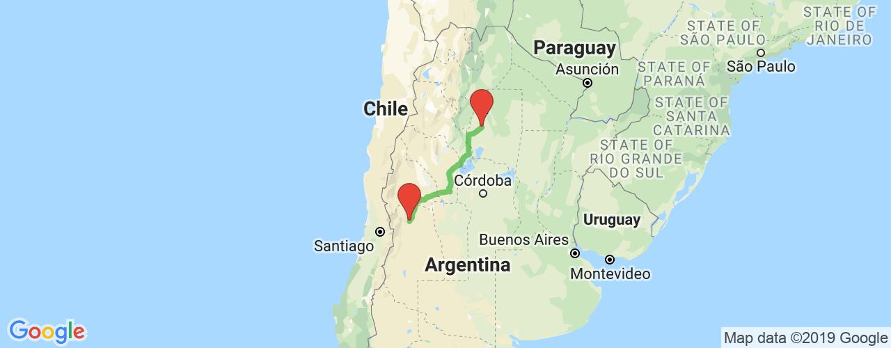 Comprar pasajes saliendo de Mendoza a Santiago del Estero. Pasajes baratos a Santiago del Estero en bus precio y horario desde Mendoza.