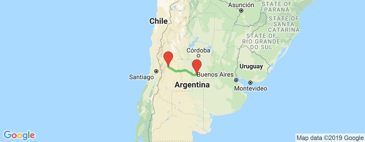 Comprar pasajes saliendo de Mendoza a Vicuña Makkena. Pasajes baratos a Vicuña Makkena en bus precio y horario desde Mendoza.