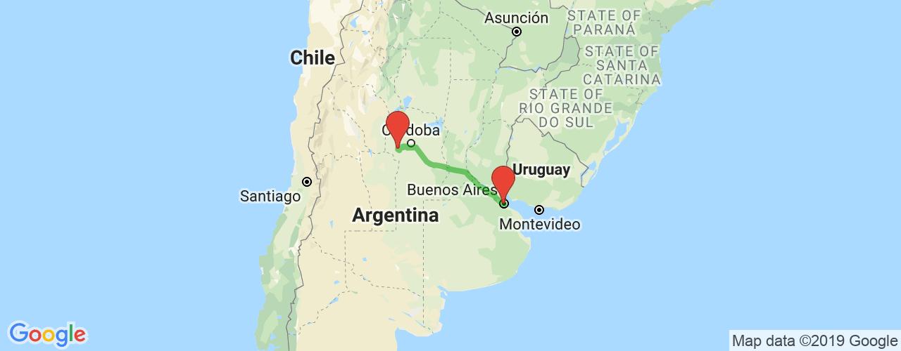 Comprar pasajes saliendo de Mina Clavero a Buenos Aires. Pasajes baratos a Buenos Aires en bus precio y horario desde Mina Clavero.