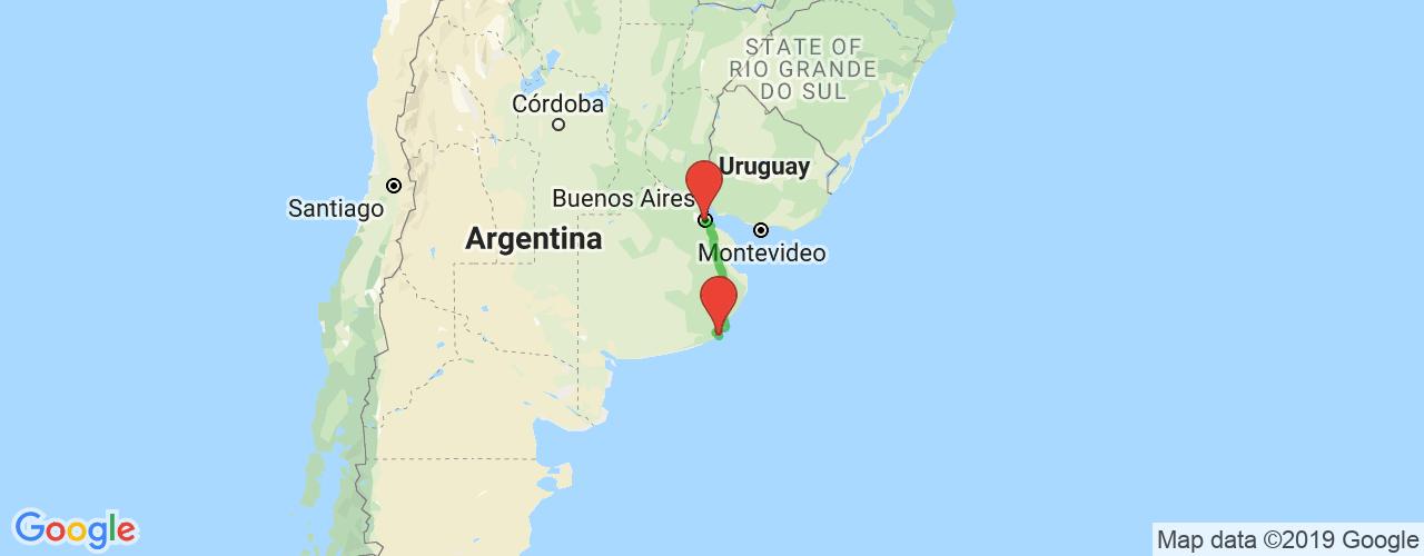 Comprar pasajes saliendo de Miramar a Buenos Aires. Pasajes baratos a Buenos Aires en bus precio y horario desde Miramar.