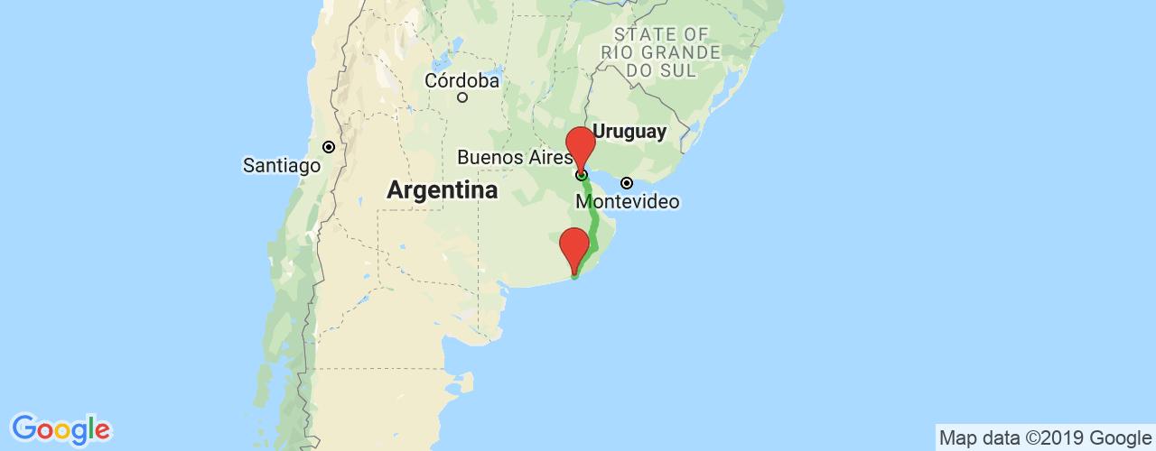 Comprar pasajes saliendo de Necochea a Buenos Aires. Pasajes baratos a Buenos Aires en bus precio y horario desde Necochea.