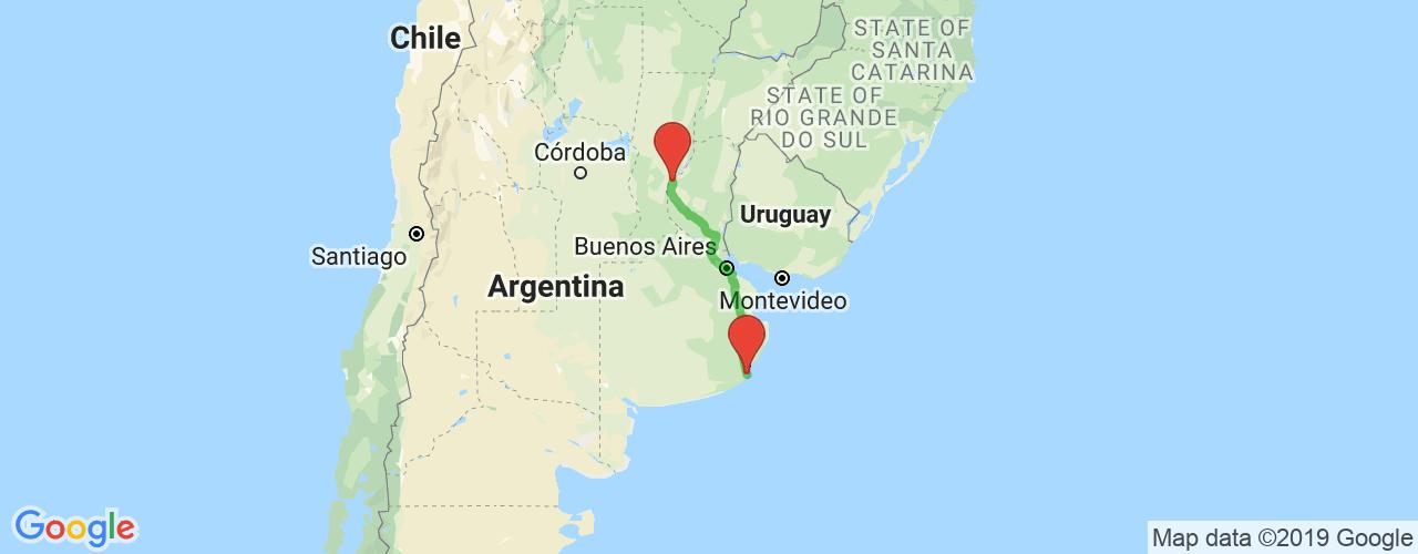Comprar pasajes saliendo de Paraná a Mar del Plata. Pasajes baratos a Mar del Plata en bus precio y horario desde Paraná, Entre Ríos.