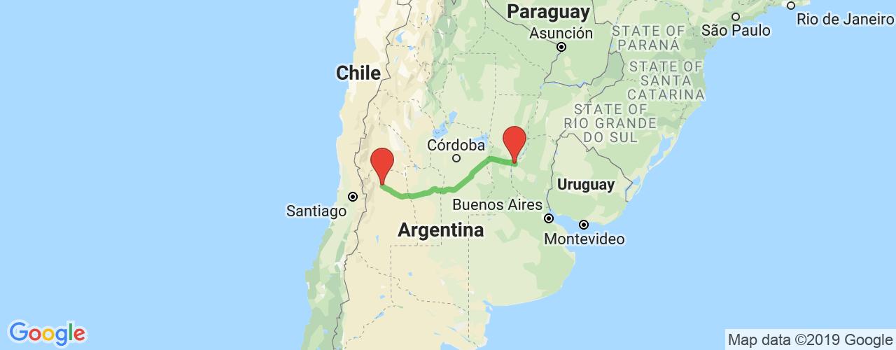 Comprar pasajes saliendo de Paraná a Mendoza. Pasajes baratos a Mendoza en bus precio y horario desde Paraná, Entre Ríos.