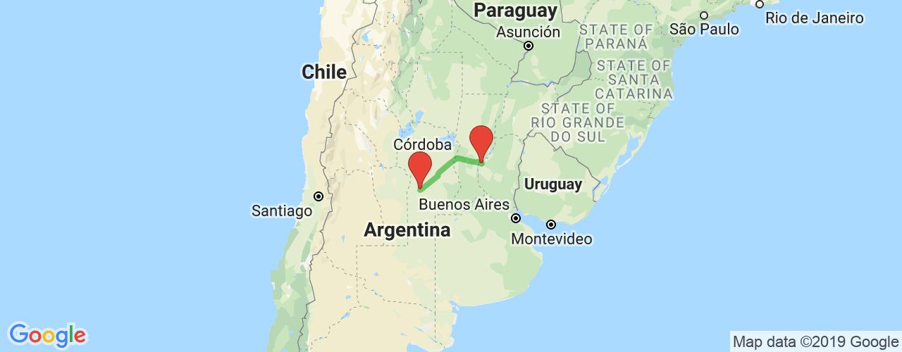 Comprar pasajes saliendo de Paraná a Río Cuarto. Pasajes baratos a Río Cuarto en bus precio y horario desde Paraná, Entre Ríos.