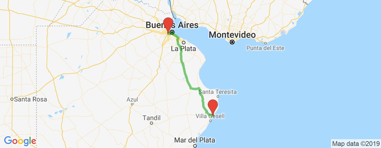 Comprar pasajes saliendo de Pinamar a Liniers. Pasajes baratos a Liniers en bus precio y horario desde Pinamar.
