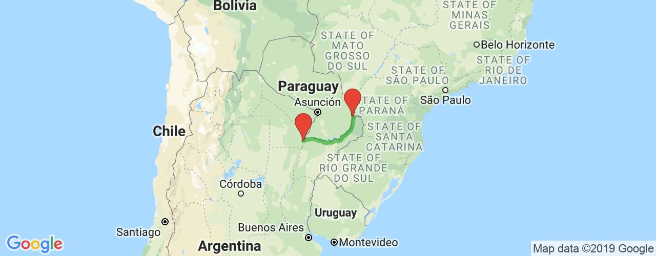 Comprar pasajes saliendo de Puerto Iguazú a Corrientes. Pasajes baratos a Corrientes en bus precio y horario desde Puerto Iguazú.