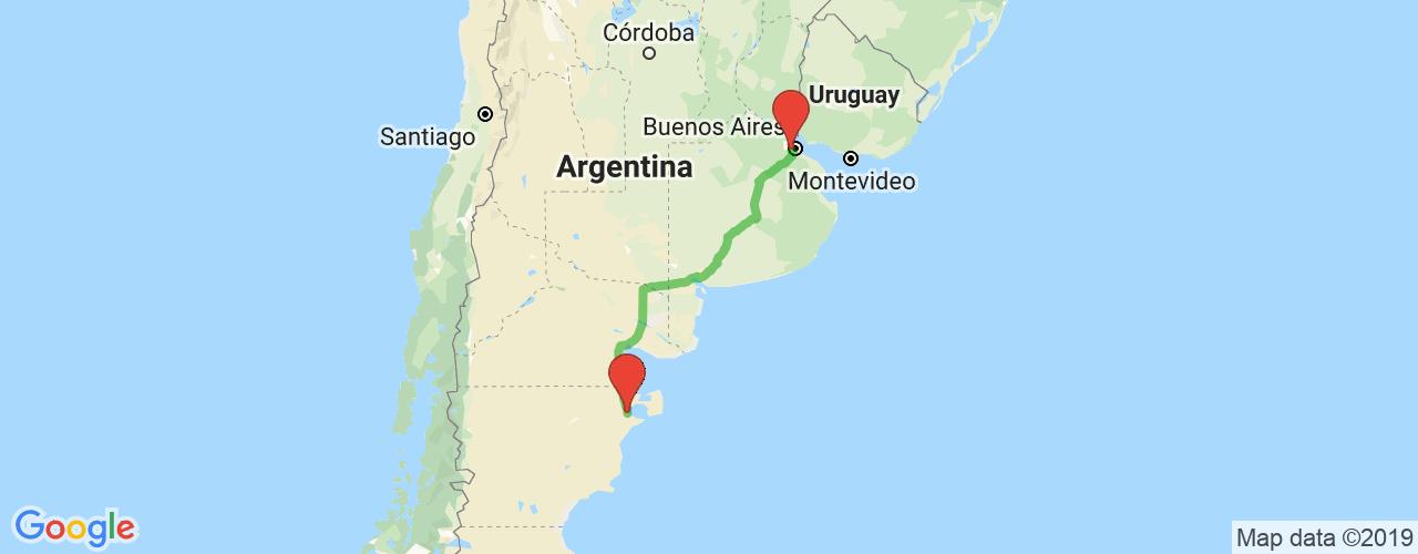 Comprar pasajes saliendo de Puerto Madryn a Liniers. Pasajes baratos a Liniers en bus precio y horario desde Puerto Madryn.