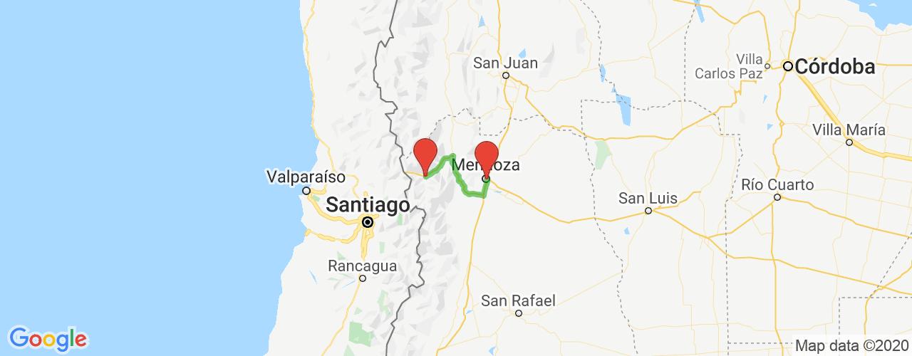 Comprar pasajes saliendo de Punta de Vacas a Mendoza. Pasajes baratos a Mendoza en bus precio y horario desde Punta de Vacas.