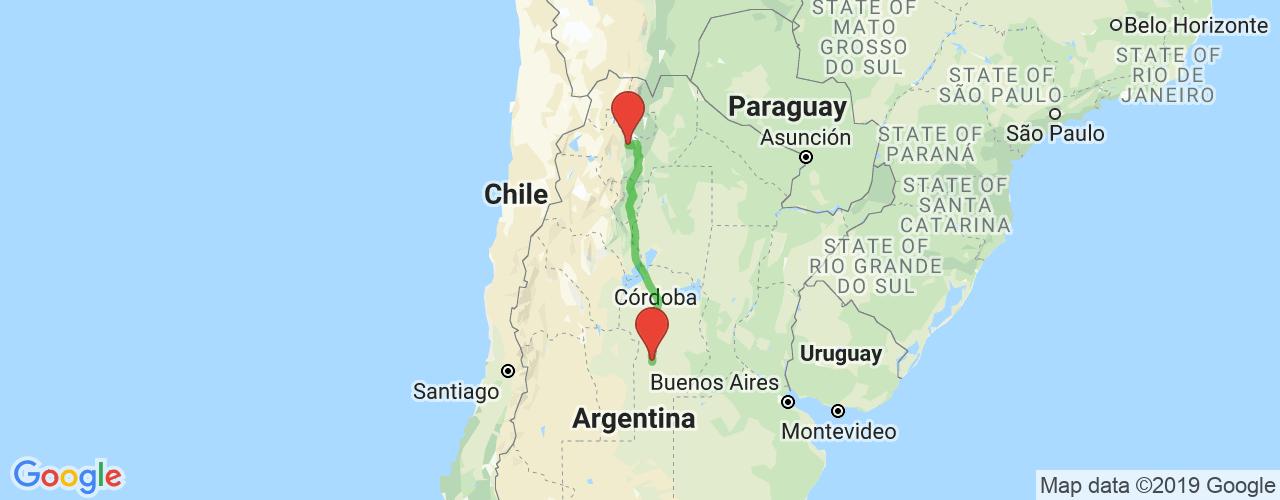 Comprar pasajes saliendo de Río Cuarto a Salta. Pasajes baratos a Buenos Aires en bus precio y horario desde Río Cuarto.