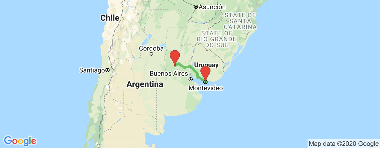 Viajar en bus de Rosario a Montevideo. Pasajes baratos a Montevideo en micro desde Rosario.