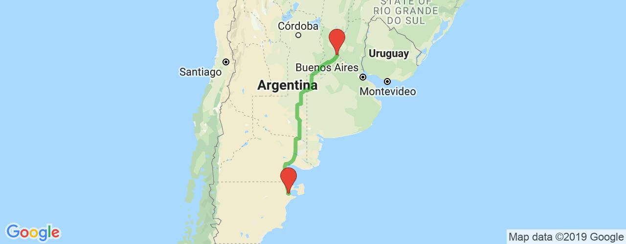Comprar pasajes saliendo de Rosario a Puerto Madryn. Pasajes baratos a Puerto Madryn en bus precio y horario desde Rosario.