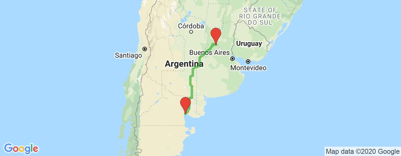 Comprar pasajes de Rosario a San Antonio Oeste en micro. Pasajes baratos a San Antonio Oeste en bus desde Rosario.