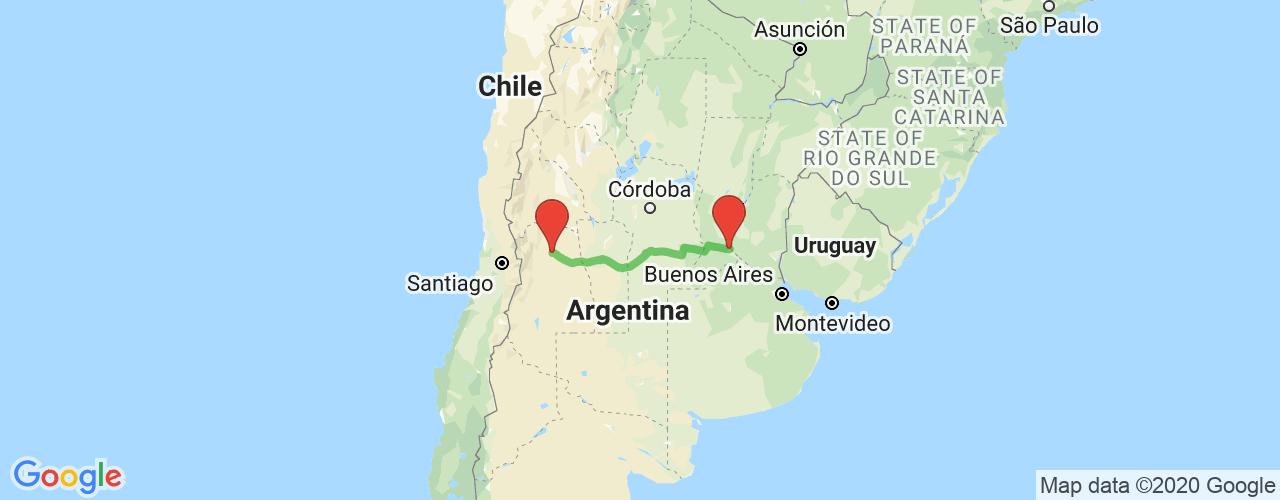 Comprar pasajes saliendo de Rosario a San Martín. Pasajes baratos a San Martín en bus precio y horario desde Rosario.