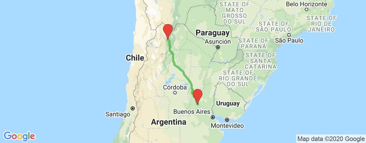 Comprar pasajes saliendo de Rosario a San Salvador de Jujuy. Pasajes baratos a San Salvador de Jujuy en bus precio y horario desde Rosario.