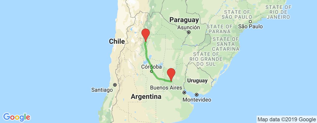 Comprar pasajes icrossaliendo de Rosario a Tucumán. Pasajes baratos a Rosario en bus precio y horario desde Rosario.