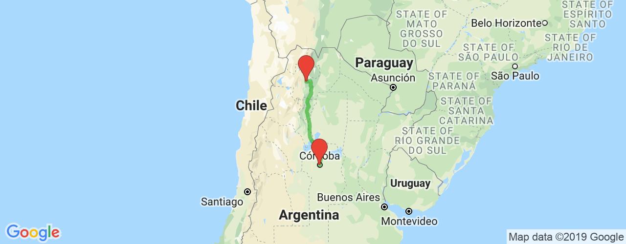 Comprar pasajes saliendo de Salta a Córdoba. Pasajes baratos a Córdoba en bus precio y horario desde Salta.