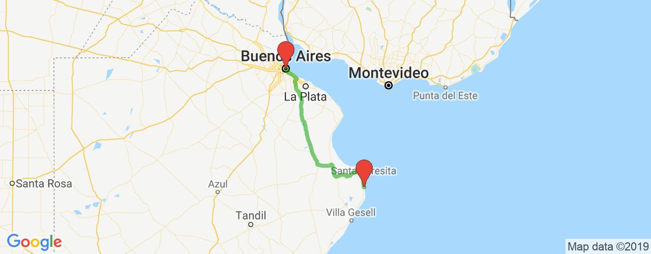 Comprar pasajes saliendo de San Bernardo a Buenos Aires. Pasajes baratos a Buenos Aires en bus precio y horario desde San Bernardo.