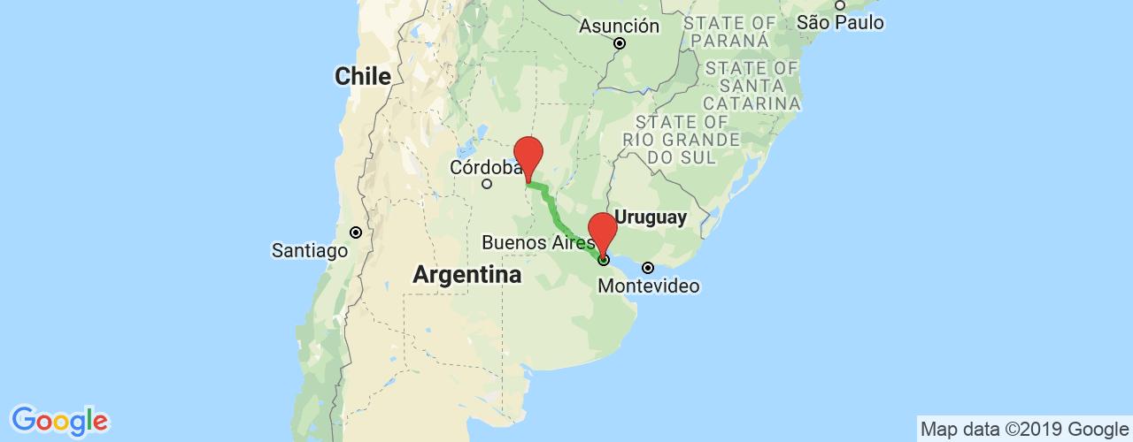 Comprar pasajes saliendo de San Francisco a Buenos Aires. Pasajes baratos a Buenos Aires en bus precio y horario desde San Francisco.
