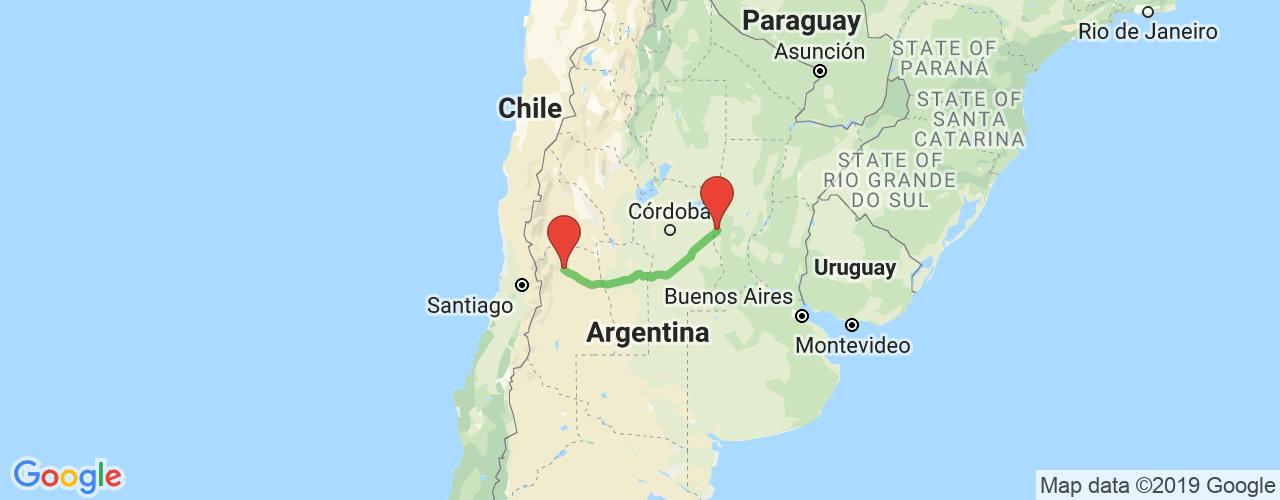 Comprar pasajes saliendo de San Francisco a Mendoza. Pasajes baratos a Mendoza en bus precio y horario desde San Francisco.