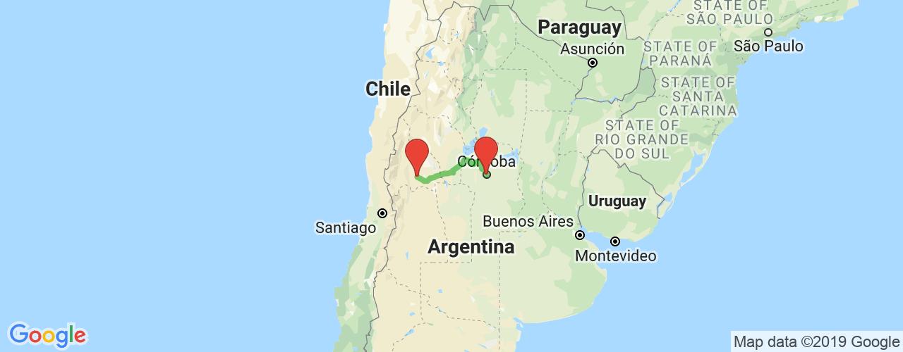 Comprar pasajes saliendo de San Juan a Córdoba. Pasajes baratos a Córdoba en bus precio y horario desde San Juan.