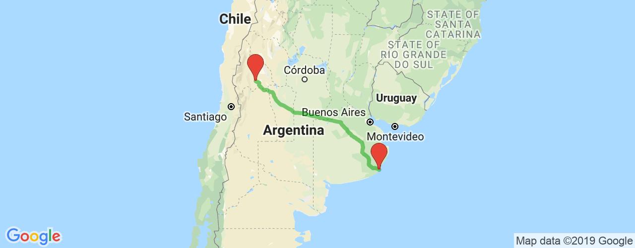 Comprar pasajes saliendo de San Juan a Mar del Plata. Pasajes baratos a Mar del Plata en bus precio y horario desde San Juan.