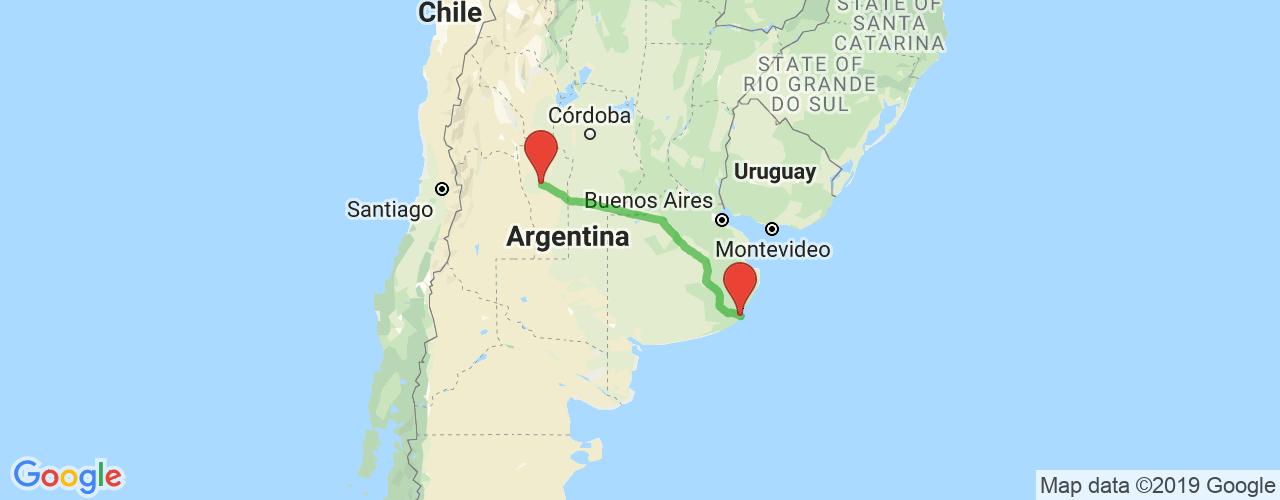 Comprar pasajes saliendo de San Luis a Mar del Plata. Pasajes baratos a Mar del Plata en bus precio y horario desde San Luis.