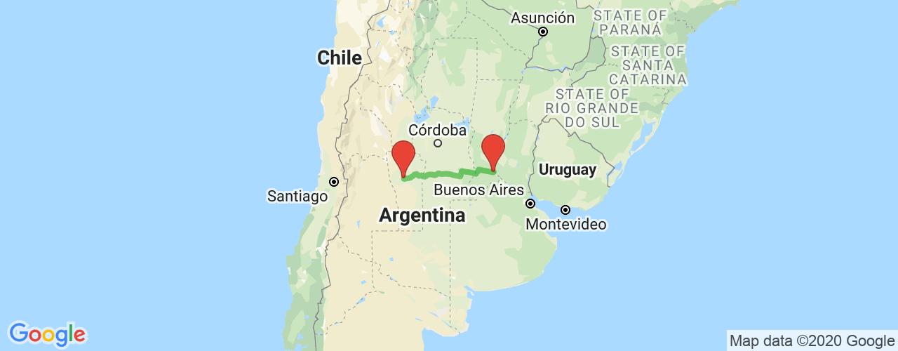 Comprar pasajes saliendo de San Luis a Rosario. Pasajes baratos a Rosario en bus precio y horario desde San Luis.