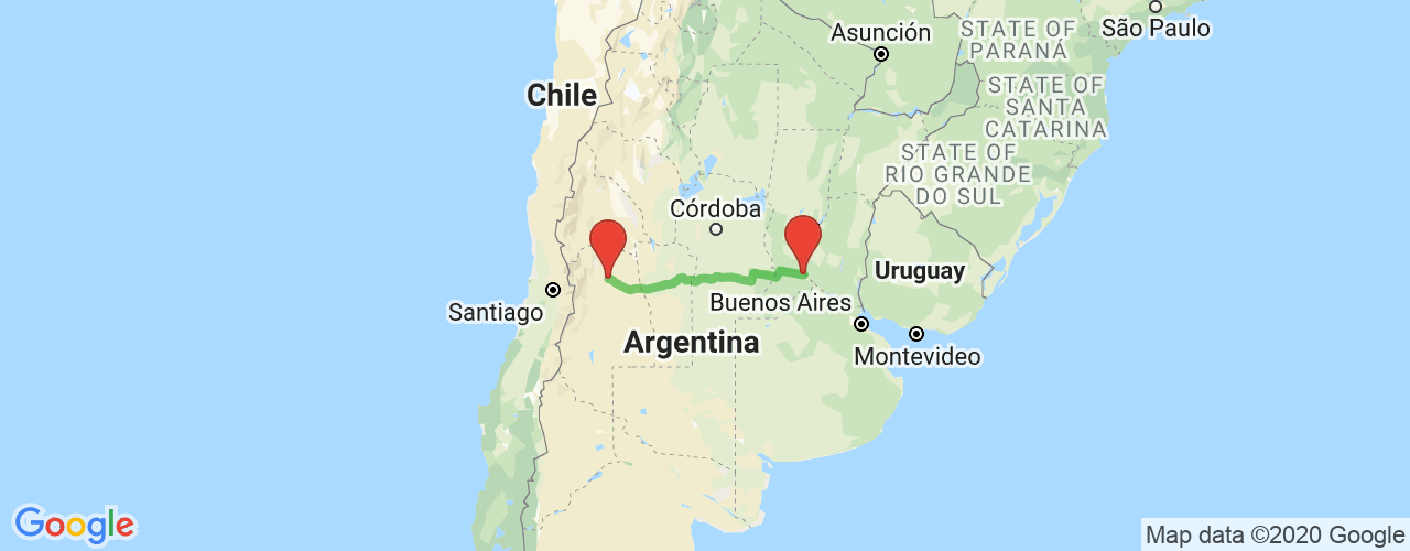 Comprar pasajes saliendo de San Martín a Rosario. Pasajes baratos a Rosario en bus precio y horario desde San Martín, Mendoza.