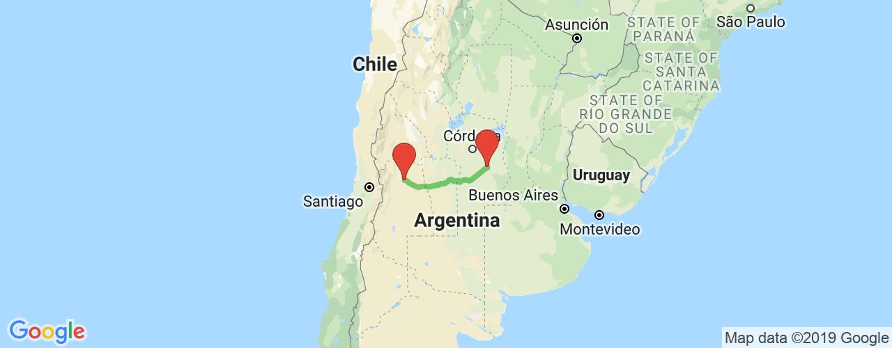 Comprar pasajes saliendo de San Martín a Villa María. Pasajes baratos a Villa María en bus precio y horario desde San Martín, Mendoza.