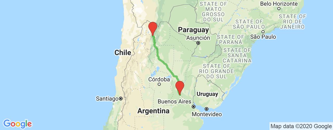 Comprar pasajes saliendo de San Salvador de Jujuy a Rosario. Pasajes baratos a Rosario en bus precio y horario desde San Salvador de Jujuy.