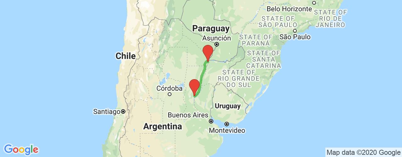 Comprar pasajes saliendo de Santa Fe a Corrientes. Pasajes baratos a Corrientes en bus precio y horario desde Santa Fe.