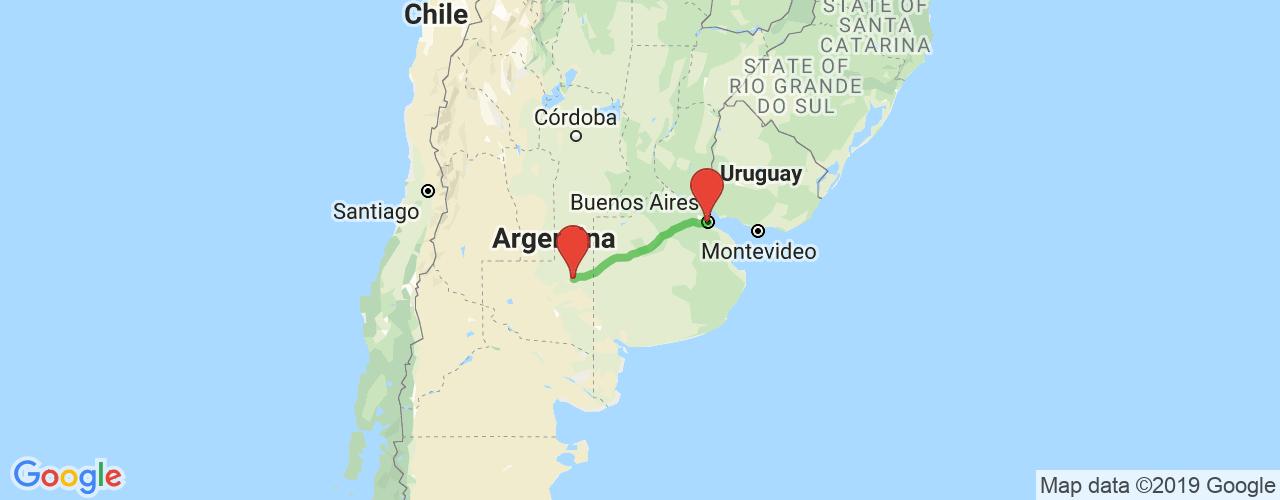 Comprar pasajes saliendo de Santa Rosa a Buenos Aires. Pasajes baratos a Buenos Aires en bus precio y horario desde Santa Rosa.