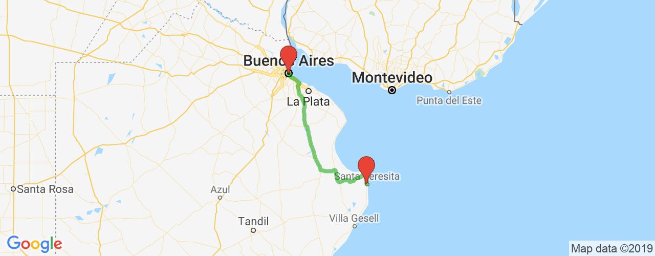 Comprar pasajes saliendo de Santa Teresita a Buenos Aires. Pasajes baratos a Buenos Aires en bus precio y horario desde Santa Teresita.