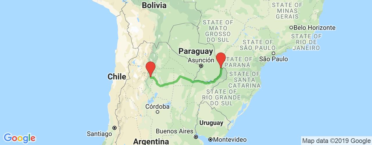 Comprar pasajes saliendo de Tucumán a Puerto Iguazú. Pasajes baratos a Puerto Iguazú en bus precio y horario desde Tucumán.