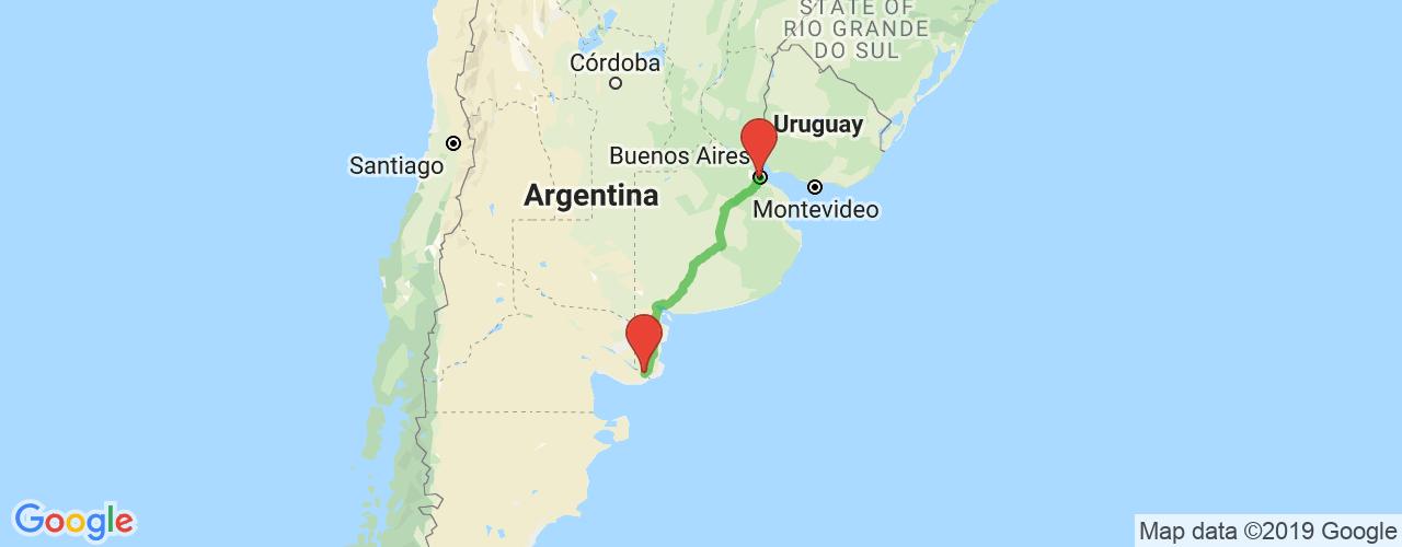 Comprar pasajes saliendo de Viedma a Buenos Aires. Pasajes baratos a Buenos Aires en bus precio y horario desde Viedma.