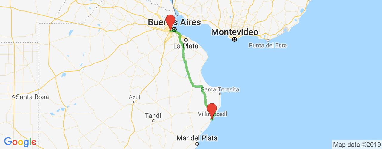 Comprar pasajes saliendo de Villa Gesell a Liniers. Pasajes baratos a Liniers en bus precio y horario desde Villa Gesell.