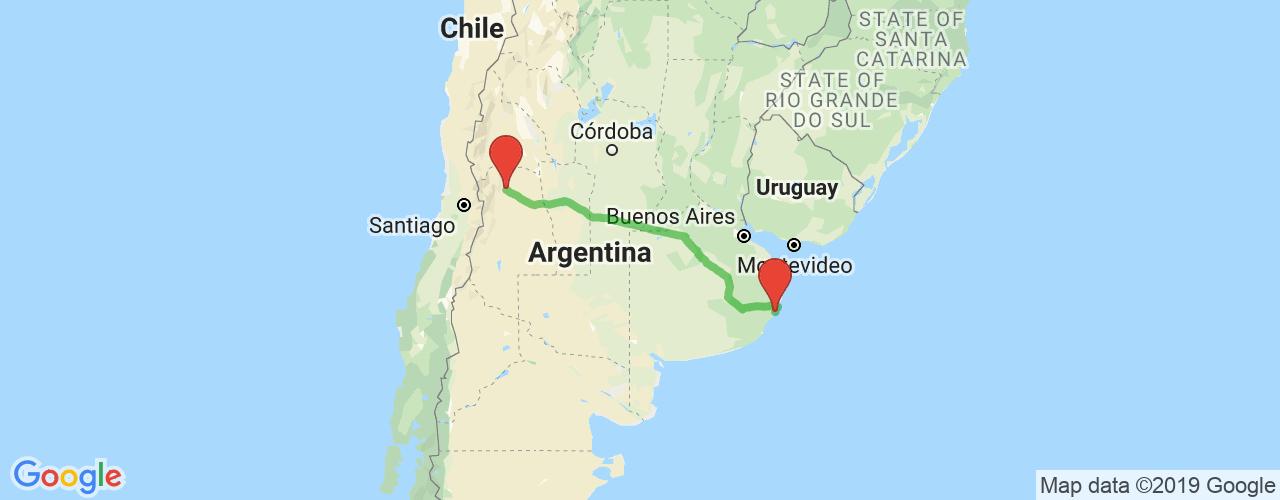 Comprar pasajes saliendo de Villa Gesell a Mendoza. Pasajes baratos a Mendoza en bus precio y horario desde Villa Gesell.