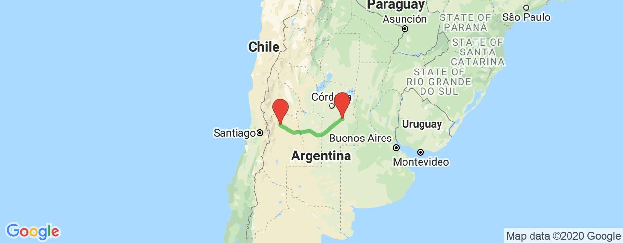 Comprar pasajes saliendo de Villa María a Mendoza. Pasajes baratos a Mendoza en bus precio y horario desde Villa María.