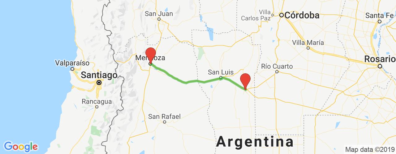 Comprar pasajes saliendo de Villa Mercedes a Mendoza. Pasajes baratos a Mendoza en bus precio y horario desde Villa Mercedes, San Luis.